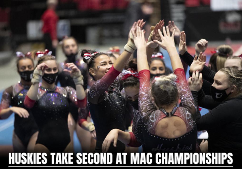 NIU Women Gymnasts Take 2nd in MAC Tournament