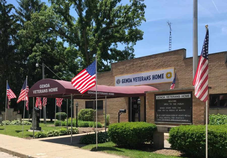 Genoa Veterans Home Blood Drive