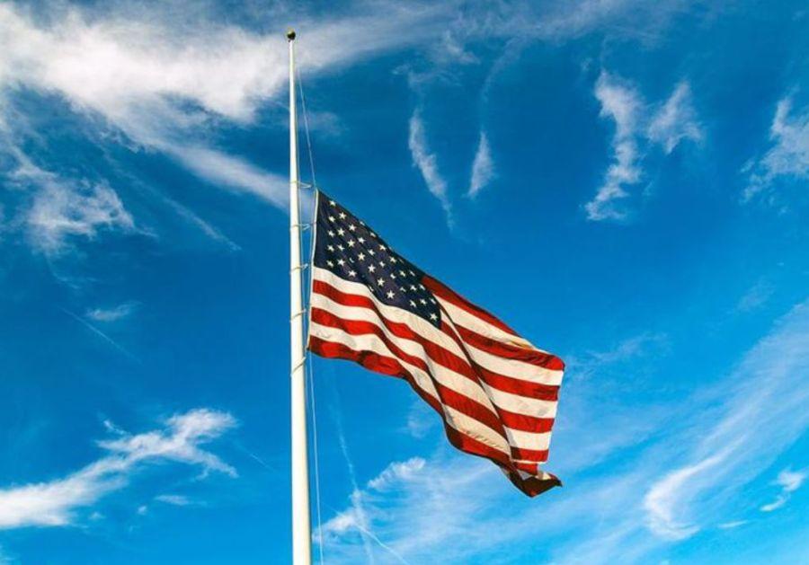 American Flag Half-Staff Notification