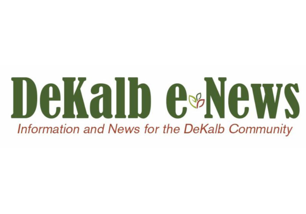 DeKalb e-News Logo