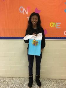 Selina Winfrey, grade 11, Columbia High School