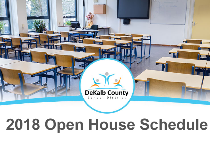2018 Open House Schedule