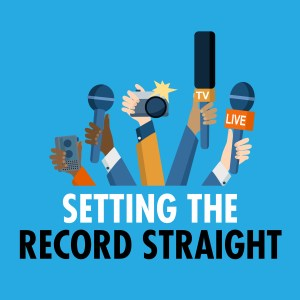 Poster: Setting the Record Straight Graphic Version