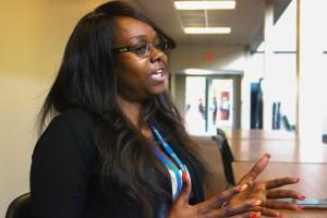 Katrina Parker talks about GED program