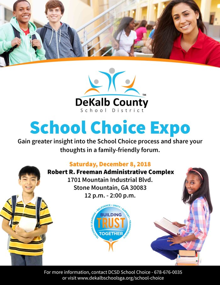 2018 School Choice Expo