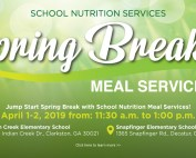 spring break meals 2019 web banner