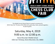 2019 chess fair flyer