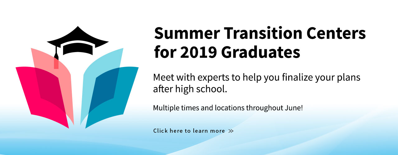 2019 Summer Transition Centers