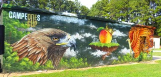 mural at Sequoyah Middle
