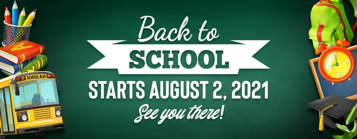 back to school 2021 web banner