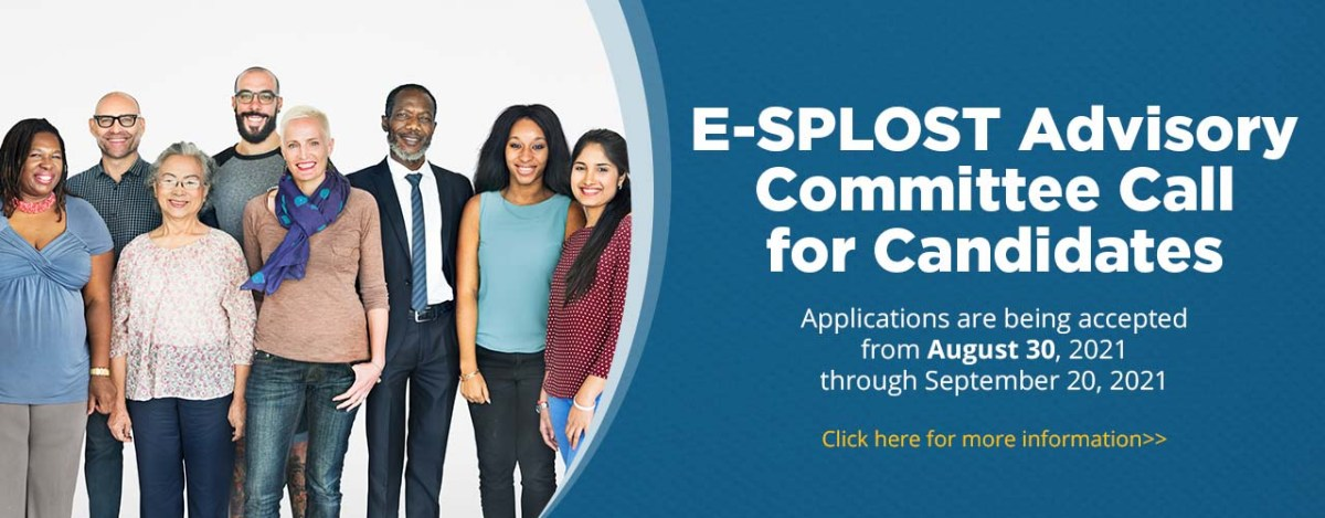 e-splost advisory committee call for candidates