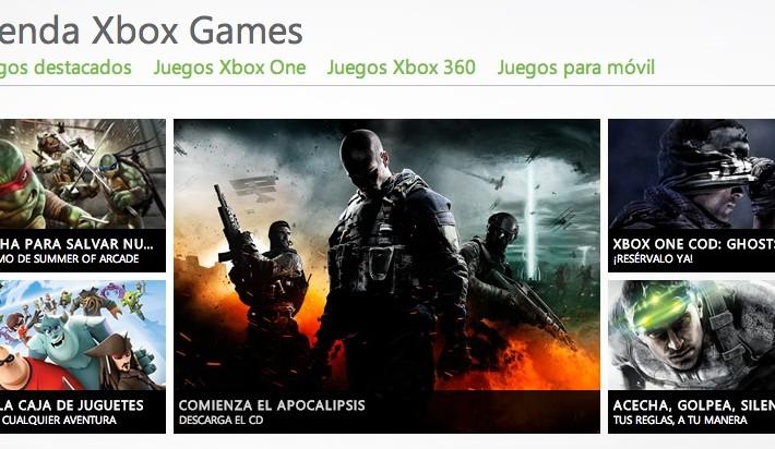 Tienda Xbox Games