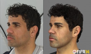 La captura facial del Atletico de Madrid para FIFA 14