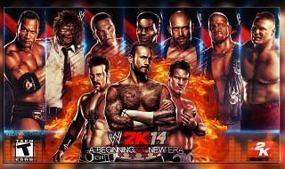 La lista de luchadores de WWE 2K14