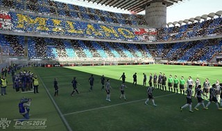 Gameplay de la beta del modo online 11 vs 11 de PES 2014