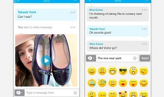 Skype se adapta a iOS 7