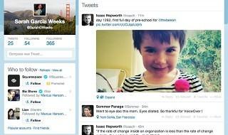 Nuevo diseño de la versión web de Twitter en camino