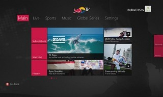 La aplicación de Red Bull TV ya disponible en Xbox 360