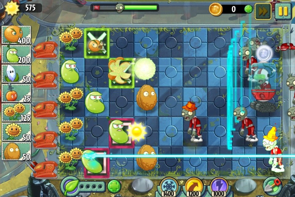 PvZ Far Future Screen