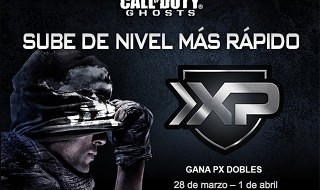 Doble XP en Call of Duty: Ghosts este fin de semana