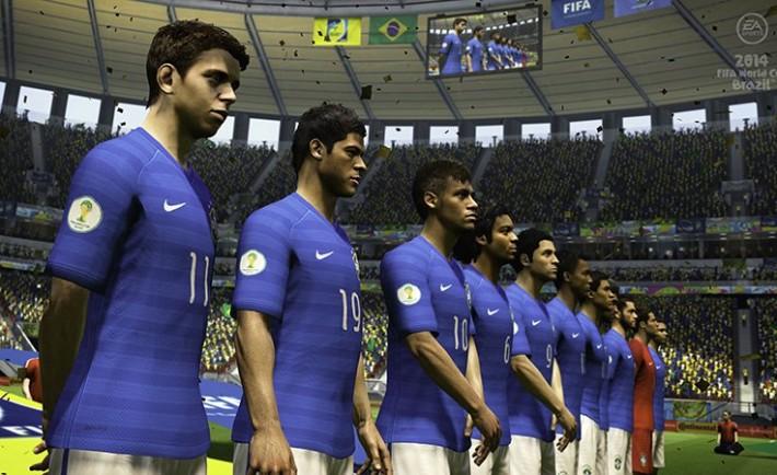 EASPORTS2014FIFAWorldCupBrazil_Xbox360_PS3_Brazil_lineup_AwayKit_WM