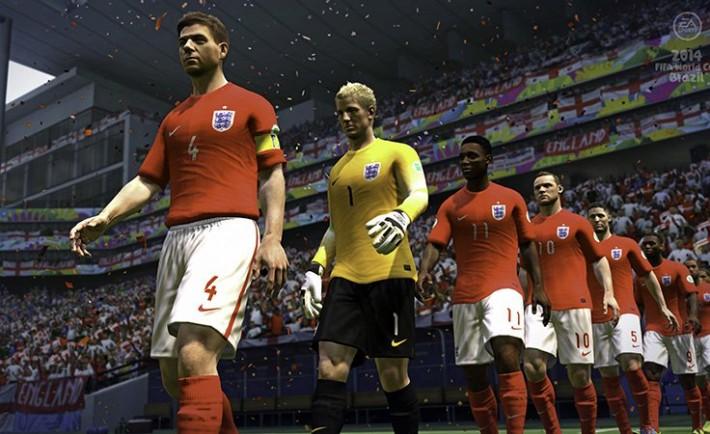 EASPORTS2014FIFAWorldCupBrazil_Xbox360_PS3_England_AwayKit_WalkOut_WM