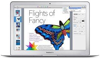 Apple actualiza Keynote (6.2), Numbers (3.2) y Pages (5.2) para Mac