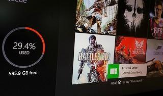 El soporte para discos duros externos en Xbox One está cerca