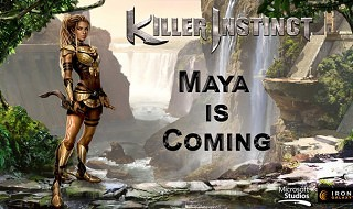 Maya, segundo personaje para la segunda temporada de Killer Instinct