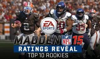 Los 10 mejores rookies de Madden NFL 15