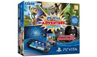 El PS Vita Adventure Mega Pack llegará en otoño