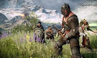 El inquisidor y sus seguidores en Dragon Age: Inquisition