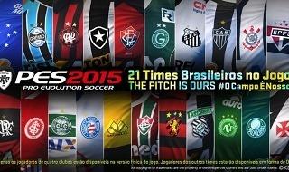 PES 2015 tendrá 21 equipos brasileños licenciados