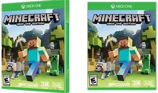 La edición física de Minecraft para Xbox One llegará a las tiendas el 21 de noviembre