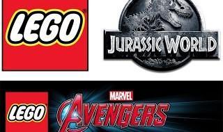 Anunciados LEGO Jurassic World y LEGO Marvel's Avengers