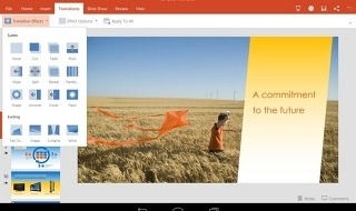 Microsoft Office ya disponible para tablets Android