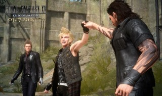 Gameplay de la demo de Final Fantasy XV