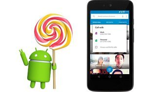 Empieza a circular Android Lollipop 5.1