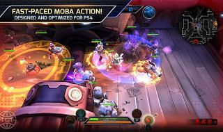 Trans-Galactic Tournament, un MOBA para PS4
