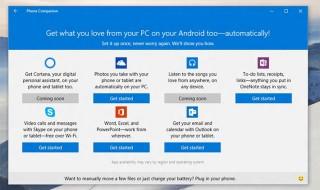 Cortana y otros servicios de Windows 10 también llegarán a iOS y Android