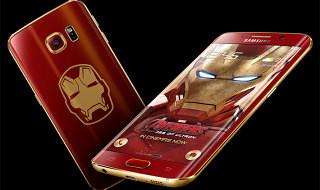 Samsung presenta una edición limitada del Galaxy S6 Edge inspirada en Iron Man