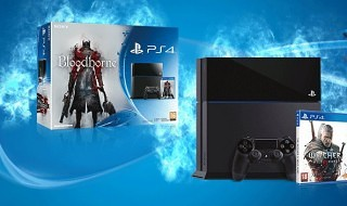 Los packs de PS4 + Bloodborne o The Witcher 3 por 399€ hasta el 21 de junio
