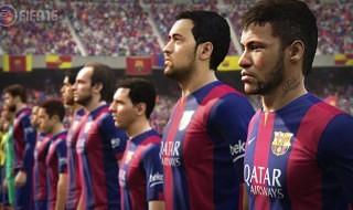 FIFA 16 se deja ver en una nueva imagen con algunos jugadores del Barcelona