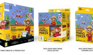 Habrá tres packs de Super Mario Maker