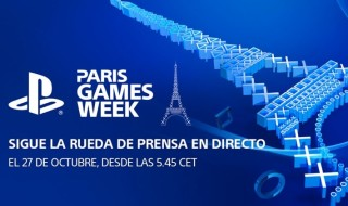 Sigue en directo la conferencia de Sony en la Paris Games Week