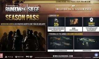 El contenido del pase de temporada de Rainbow Six Siege
