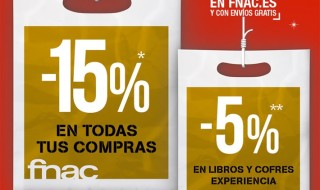 15% en Fnac el 11 y 12 de diciembre