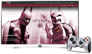 El servicio de videjuegos en streaming GameFly llega a las smart TV de LG