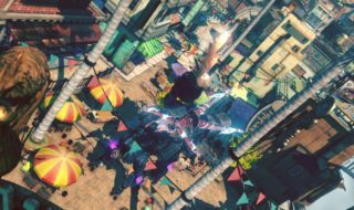 15 minutos de gameplay de Gravity Rush 2