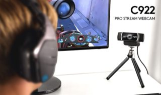 Logitech C922 Pro Stream, nueva webcam enfocada al gaming